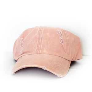 Dusty Pink Hat