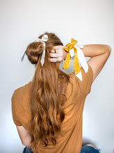Load image into Gallery viewer, Small Scrunchie Scarf - Golden Sunshine Floral