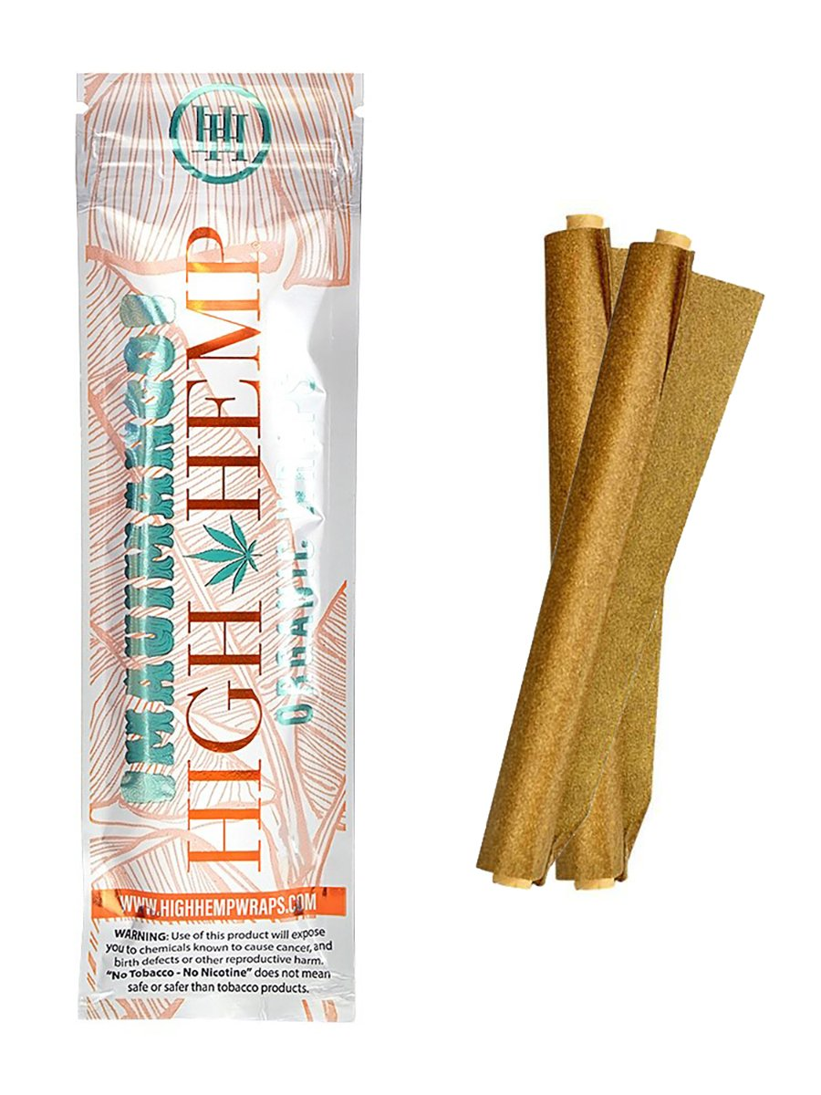 Organic Mango Hemp Wraps - 2 Pack