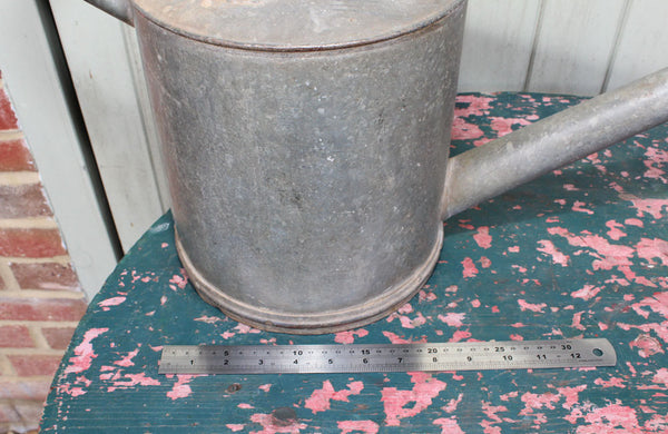 Vintage Galvanised Haws Watering Can No.4 with Brass Rose