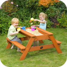 Plum Outdoor Play Wooden Sand & Picnic Table