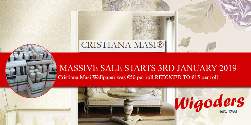 Massive SALE NOW ON at Wigoders Homestyle