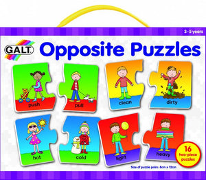 Galt - 16 Colourful Pairs of Opposite Puzzle