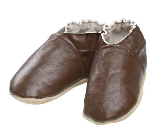 Playette Leather Zoomers Pre-walker Shoes