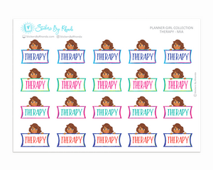 Therapy Planner Stickers - Mia