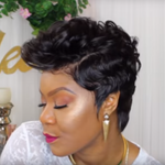 Lace Fingerwaves & Curls Wig