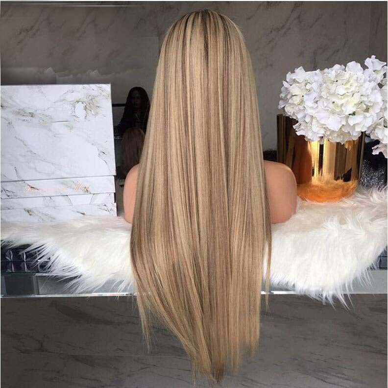 Straight Hair Blond Gradual Wig
