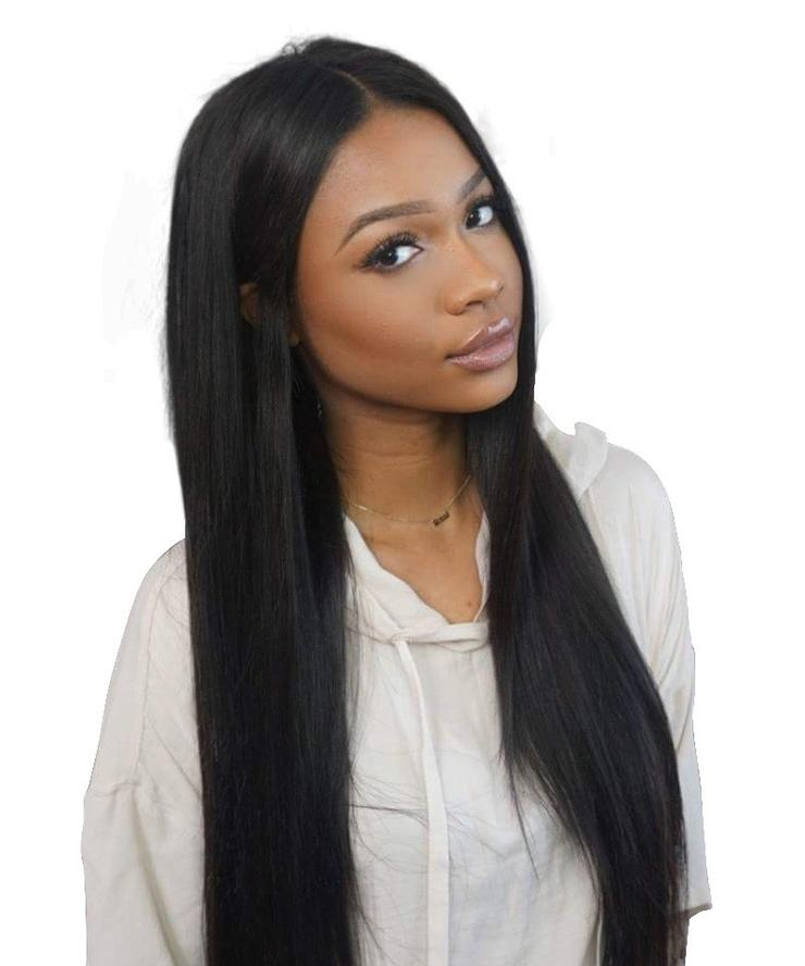 Hair Virgin Hair Full Lace Wig Brazilian Remy Human Hair Straight Hair Wigs