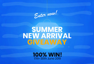 100% Win Summer Giveaway of LOFTEK New Arrival!