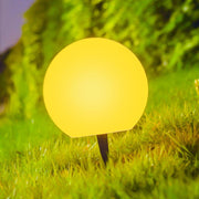 loftek led waterproof pathway outdoor light ball