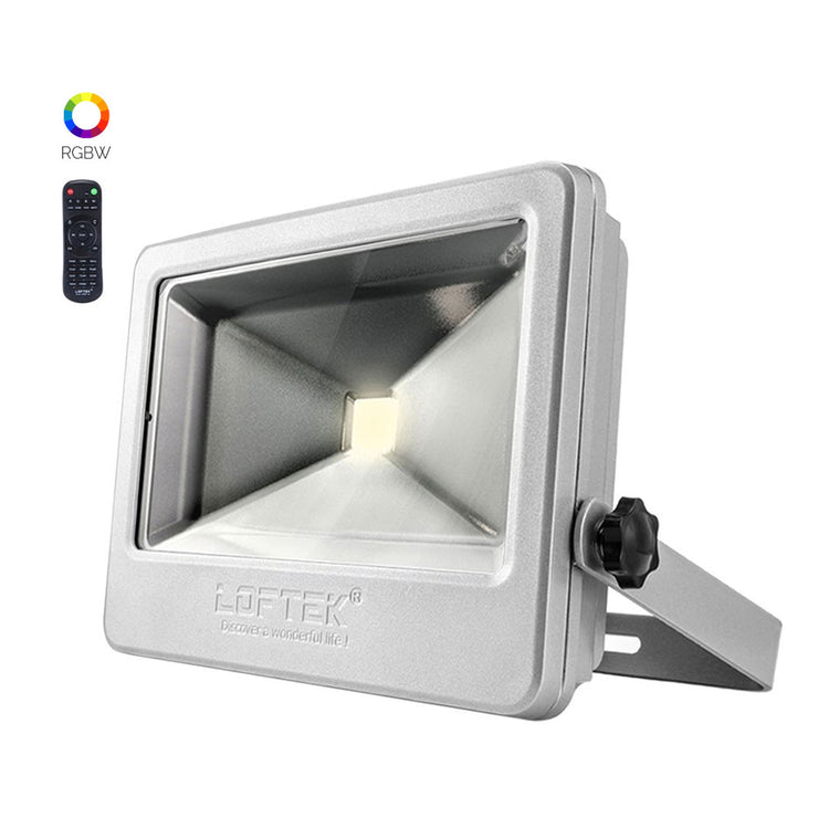 loftek nova plus led rgb 50 watt floodlight