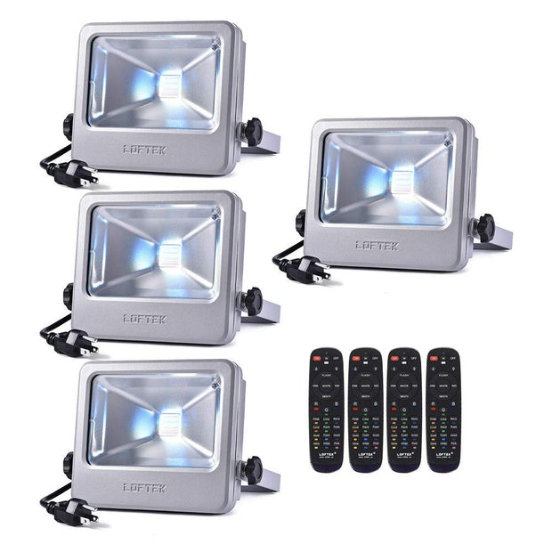 LOFTEK Nova S 30 watt rgb led flood light outdoor indoor