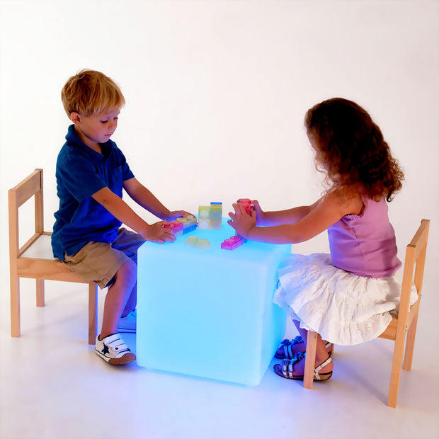 loftek led cube seat furniture for kids room