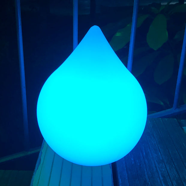 LED Mood Light with Waterdrop Shape for outdoor party decoration
