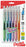 EnerGel-X Pastel Barrels Retractable, (0.7mm) Metal Tip, Medium Line, Assorted Ink (C/D/F/P/S/V) 6-Pk