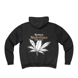 Unisex Sponge Fleece Full-Zip Hoodie - Bextera Nutrition