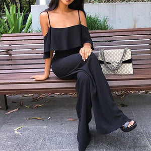 Sexy Fashion Off Shoulder Jumpsuit