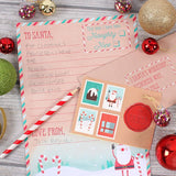 Letter to Santa children's letter writing kit