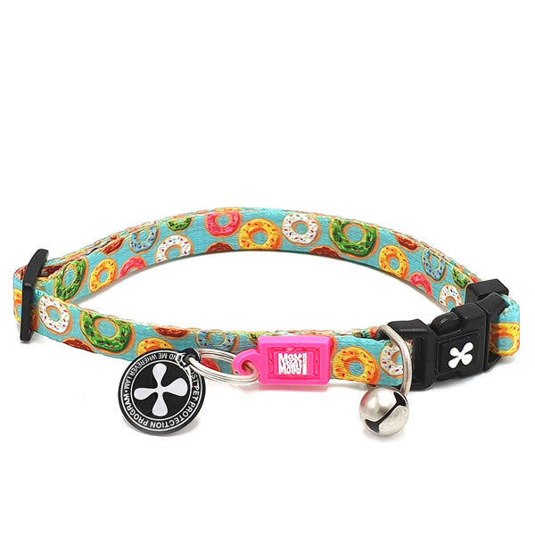 Smart ID Cat Collar - Donuts - Max & Molly Urban Pets