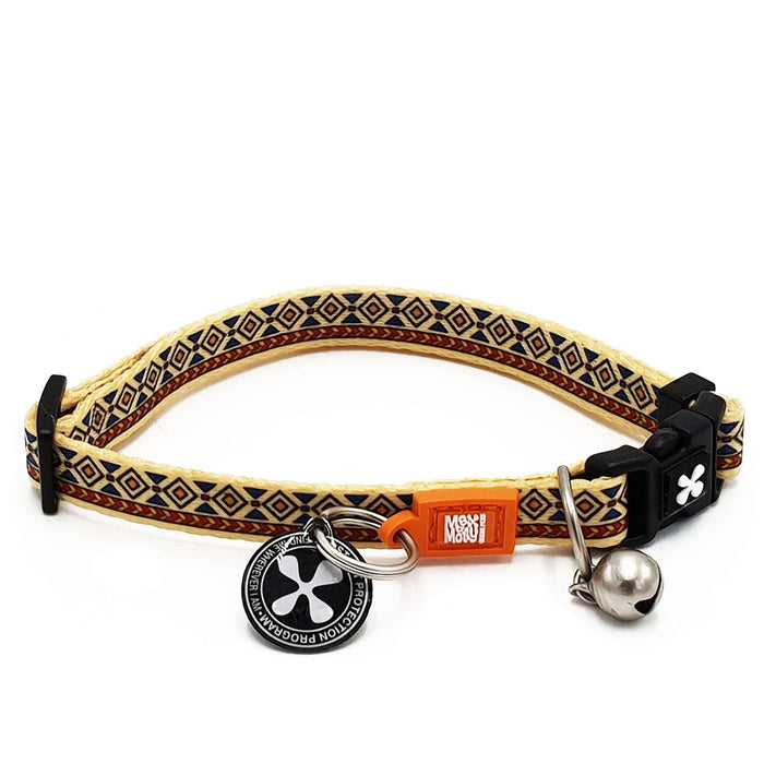 Smart ID Cat Collar - Ethnic - Max & Molly Urban Pets