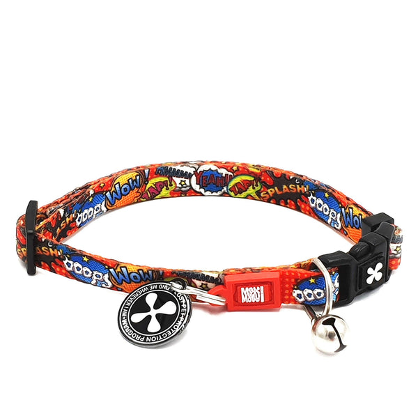 Smart ID Cat Collar - Heroes - Max & Molly Urban Pets