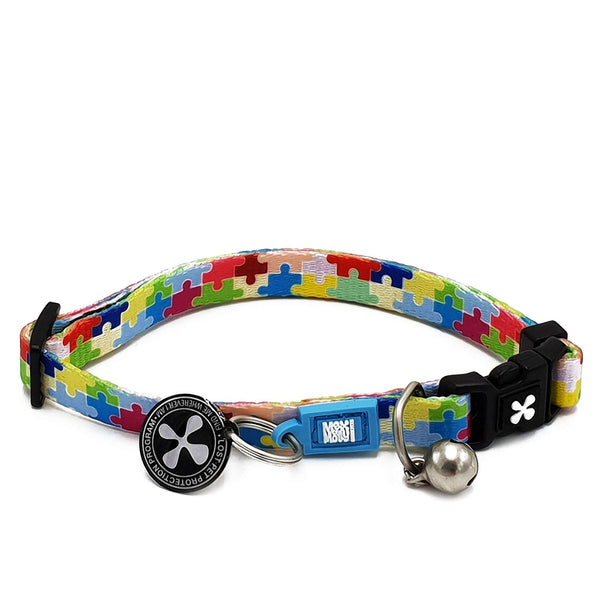 Smart ID Cat Collar - Puzzle - Max & Molly Urban Pets