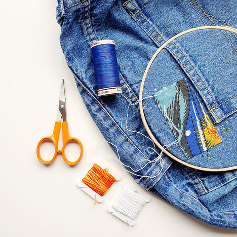 Visible Mending Workshop with Hayley Mills-Styles