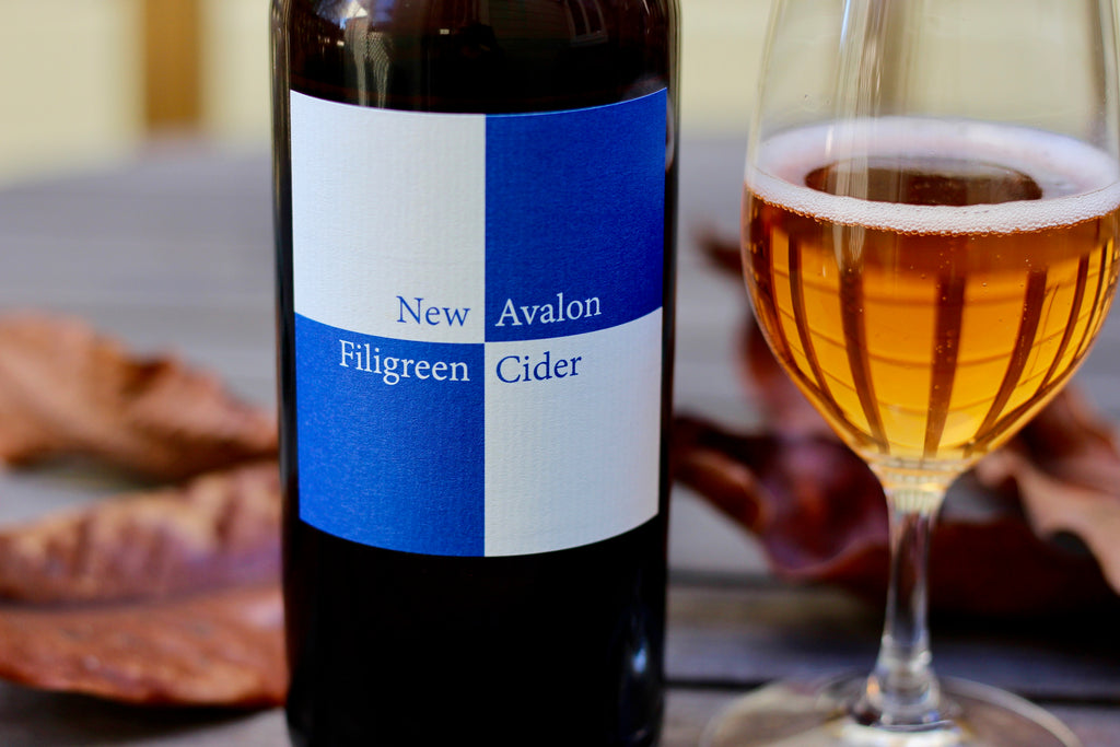 2015 New Avalon Filigreen Apple/Grape Cider (500ml) - Rock Juice Inc
