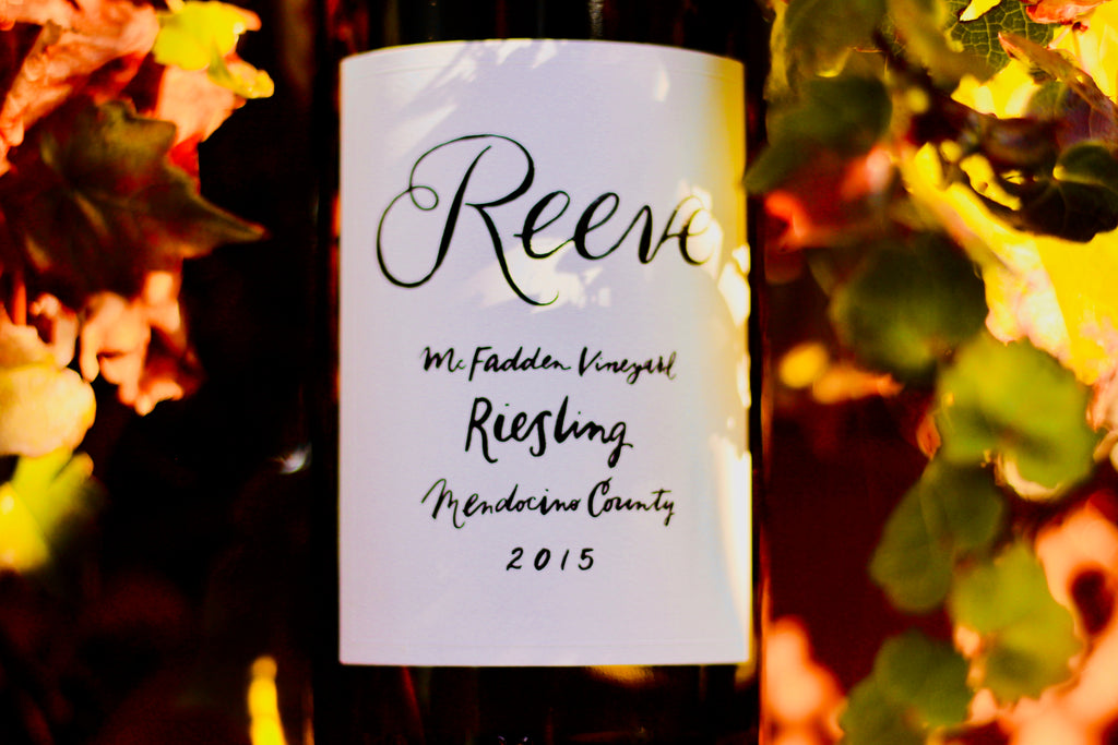 2015 Reeves Riesling 'McFadden Vineyard' - Rock Juice Inc