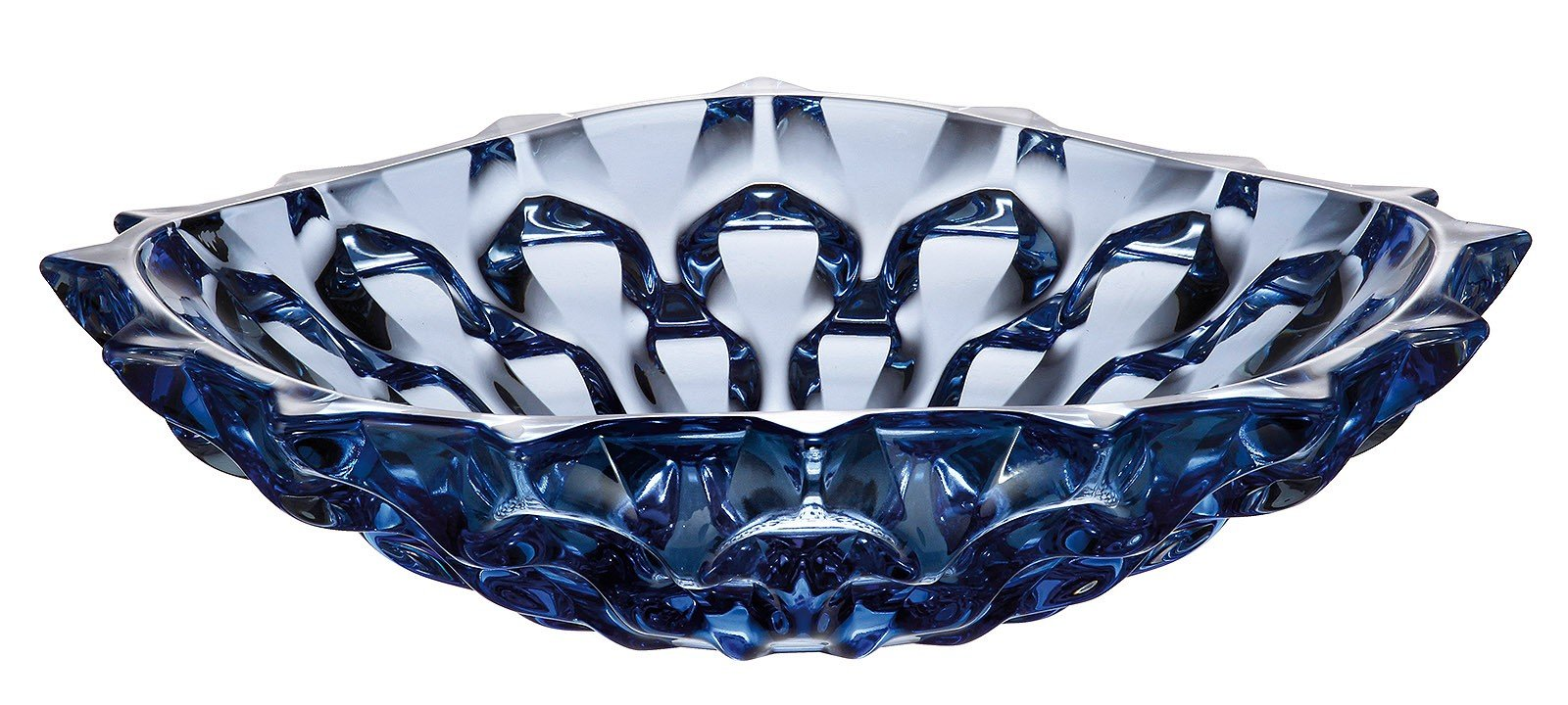SAMBA Blue Shallow Bowl