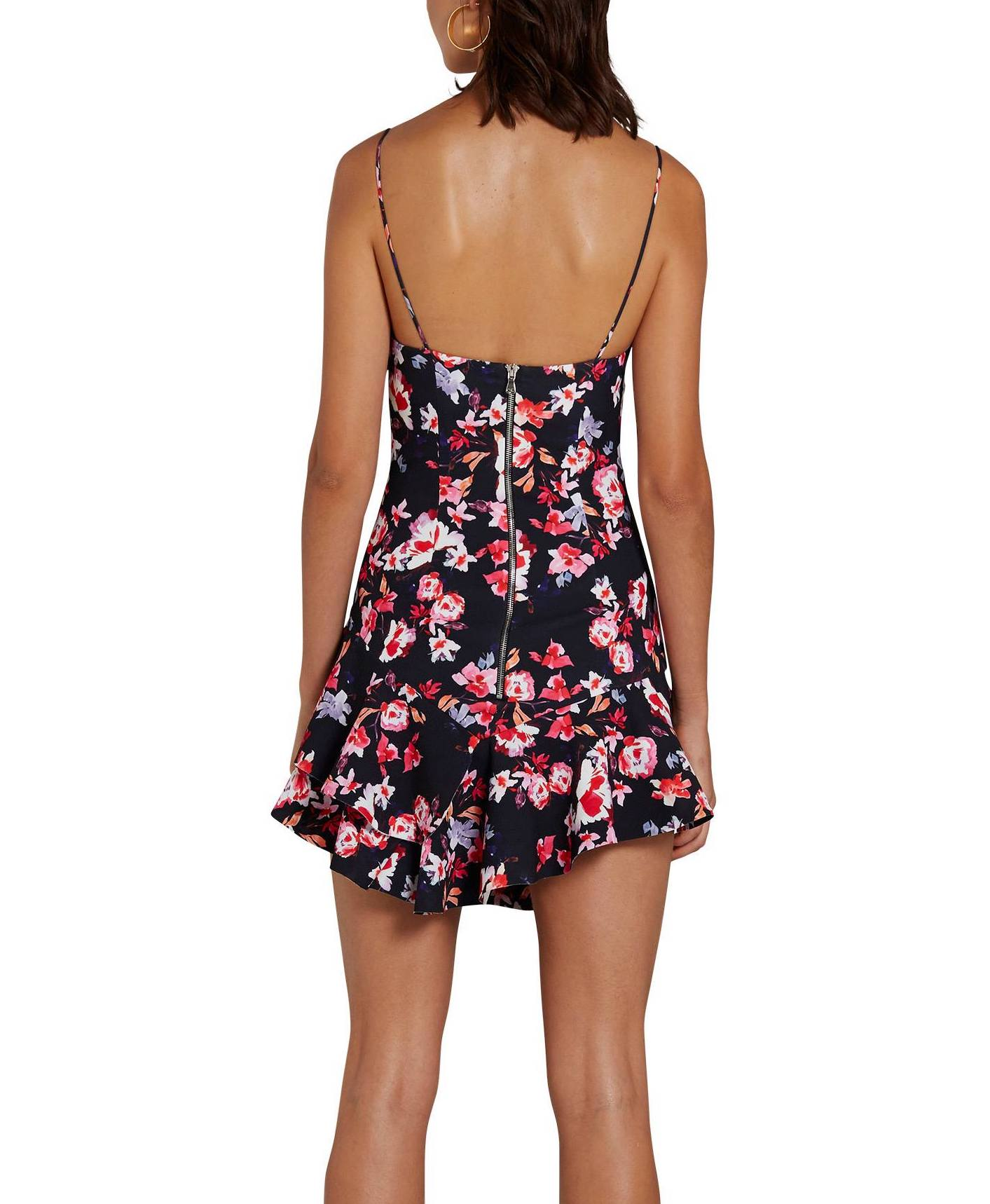 Bellflower Flip Mini Dress