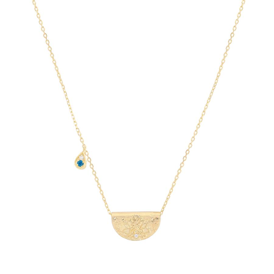 GOLD GROW WITH GRACE NECKLACE - DECEMBER
