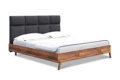 Aiken Platform Bed GRAPHITE