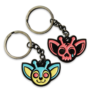 Save vs Kill the Animals Keychain