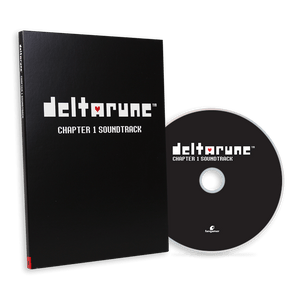 DELTARUNE Chapter 1 CD Soundtrack