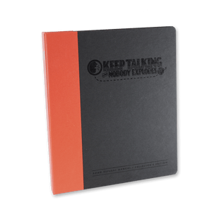 Keep Talking and Nobody Explodes Bomb Defusal Manual