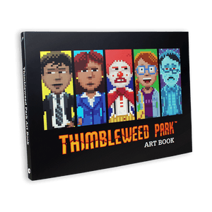 Thimbleweed Park Art Book