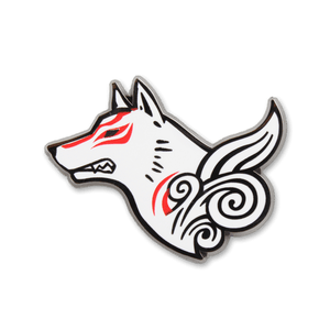 Amaterasu Enamel Pin
