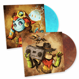 SteamWorld Dig 1 + 2 Vinyl Soundtrack Combo