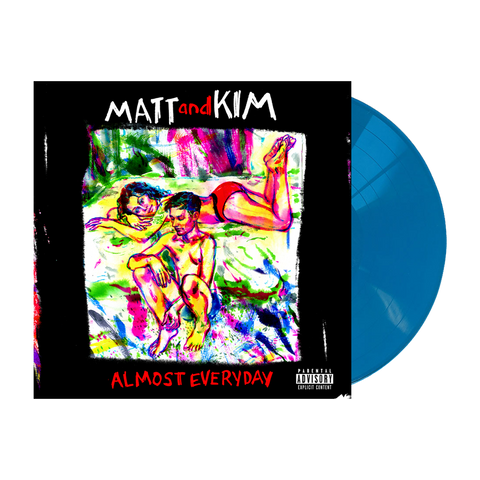 """ALMOST EVERYDAY"" Aqua Blue Vinyl"