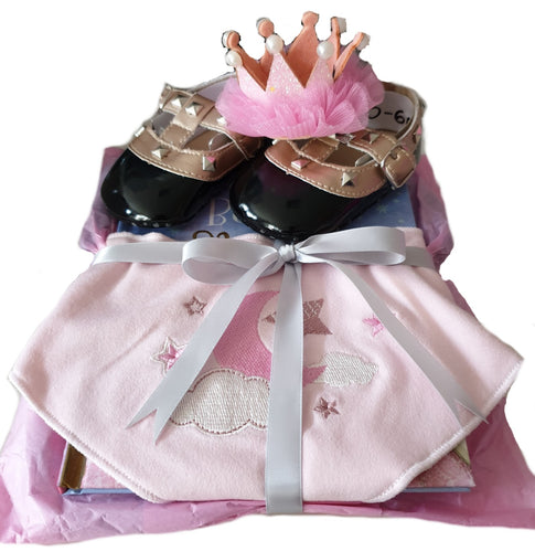 Baby Gift Box - Girls 'Bow Romper'