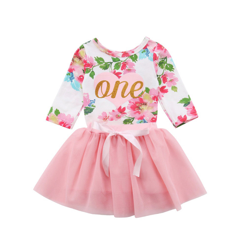 One birthday outfit (0-24M)