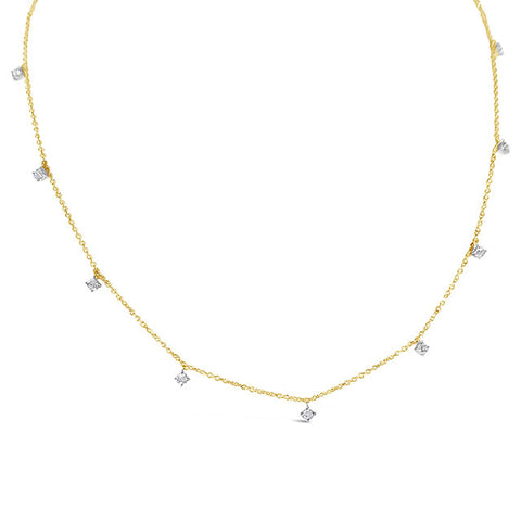 Diamond Dots Necklace