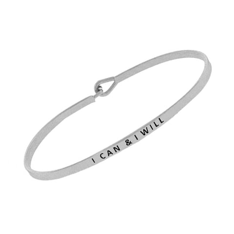 I Can & I Will Bangle