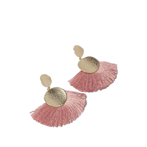 Tassel Fringe Post Earrings