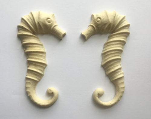 Large seahorses silicone mold