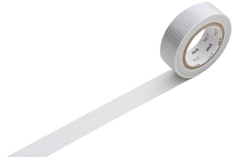 'hougan' silver mt washi tape