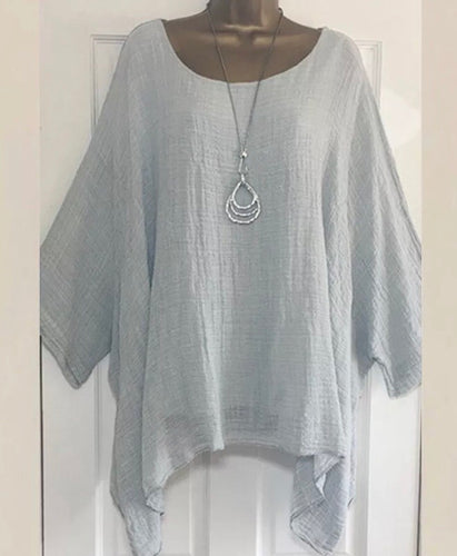 Lagenlook linen blouse (shirt)