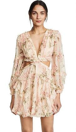 Prima Floating Cut Out Dress by Zimmermann