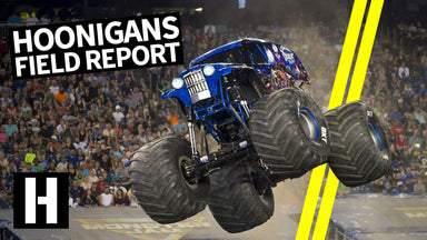 11,000hp Ride Along, A Monstrous Monster Truck Save, and More: Hoonigan Driver Field Report!